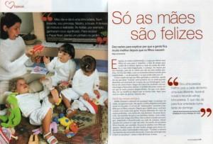 Matéria da Revista Crescer mai 2005 ed. 138 - Abril