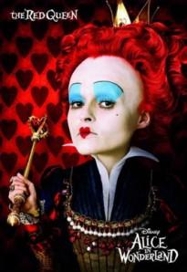 Rainha Vermelha de Alice no País das Maravilhas. Direção: Tim Burton. Copyright: Disney