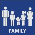 banheiro para família