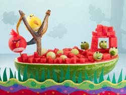 jogo angry birds feito na melancia