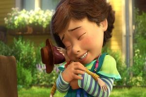 Bonnie abraçando Woody