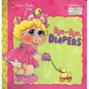 bye bye fraldas com Piggy muppets