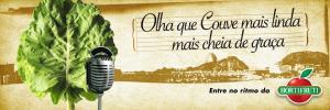 anúncio publicitário couve garota de ipanema Hortifruti