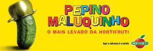 anúncio publicitário Pepino Maluquinho Hortifruti