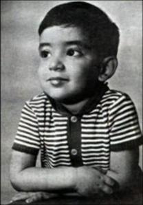 Renato Russo quando era criança