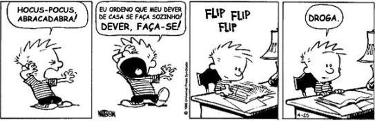 Tira do Calvin