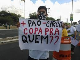 cartaz manifestação Brasil