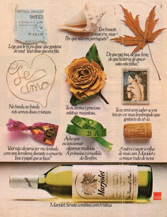 propaganda vinho marjolet