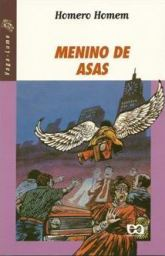 Capa do livro Menino de Asas, de Homero Homem